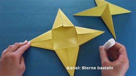 einfaches basteln mit kindern weihnachtssterne basteln weihnachten basteln einfache sterne basteln mit papier
