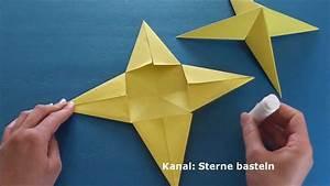 Basteln Mit Papier Anleitung : weihnachtssterne basteln weihnachten basteln youtube ~ Frokenaadalensverden.com Haus und Dekorationen