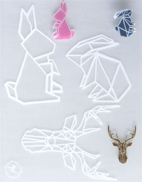 diy p 226 ques une broche lapin origami en plastique dingue