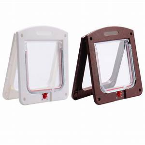 Popular wall dog door buy cheap wall dog door lots from for Dog door flap material