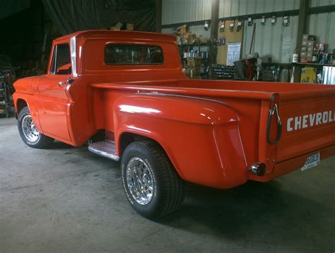 Chevy Classic Stepside Pickup Truck Restored