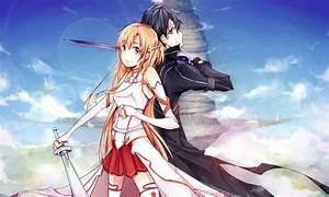 Kirito and Asuna - Sword Art Online Photo (35842915 ...