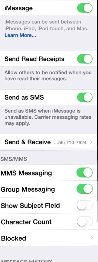 iphone not receiving messages iphone iphone not receiving text messages