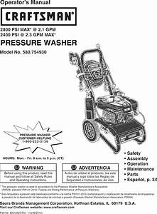 Briggs  U0026 Stratton 020607 00 User Manual Pressure Washer
