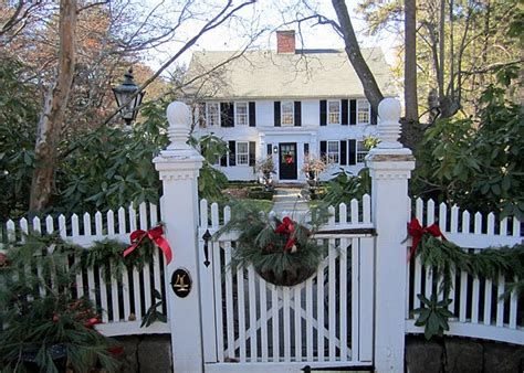 outdoor christmas decorations vintage american home
