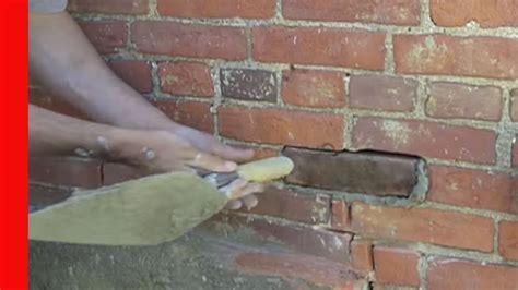cut  plug brick replacement youtube