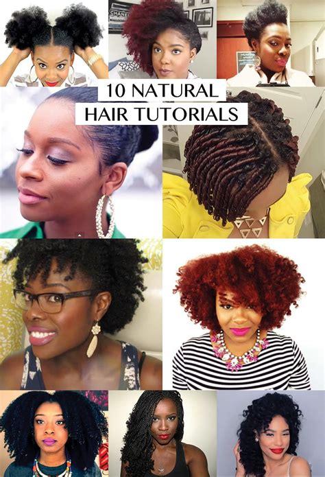 10 natural hair tutorials diy recipes and tips from