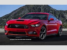 Lastcarnews Potential Ford Mustang ST Rendered