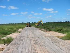 Emtek Wetland Access System Allows Access To Oil Pipelines