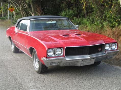Buick Gs 455 For Sale by 1970 Buick Gs 455 Convertible 00001 Classic Buick