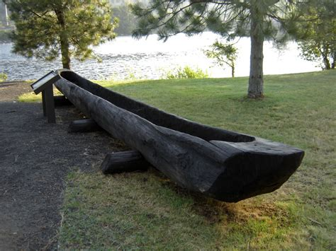 Canoes Lewis And Clark by Canoe C Of The Nex Perce Where Lewis Clark Made The