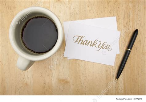 Thank You Note Card, Pen And Coffee Coffee Grinder News Starbucks Iced 48 Fl Oz Vancouver Thornbury Good White Rock Low Carb Fort Mill Sc