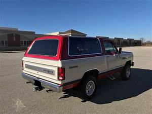 1985 Dodge Ramcharger Royal Se Prospector - Vintage 4wd Mopar