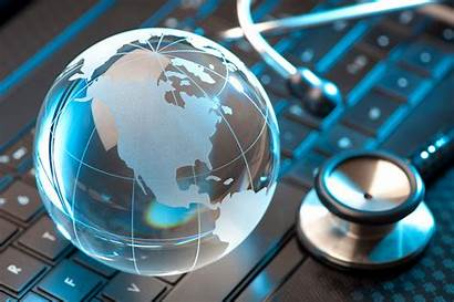 International Health Global Telemedicine Globe Telehealth Stethoscope