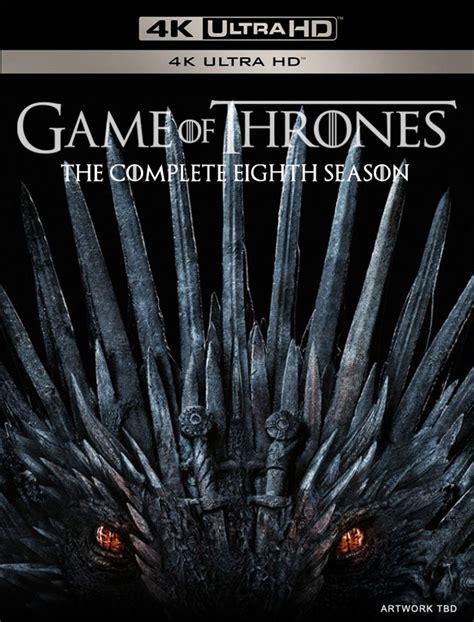 game  thrones season  blu ray dvd packaging