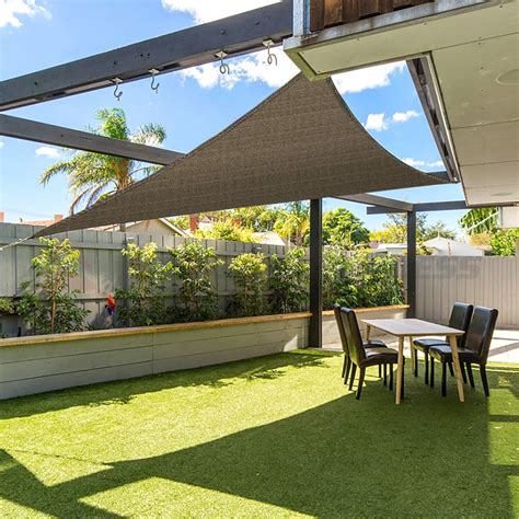 Shade Canopy by 12 X12 X12 Triangle Sun Shade Sail Fabric Outdoor Canopy