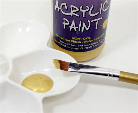 gold color acrylic paint sargent 25 2381 8 ounce metallic acrylic paint gold