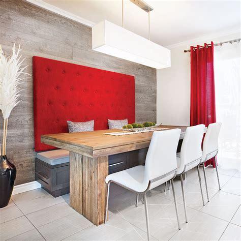 banquette cuisine sur mesure banquette design dans une cuisine au look lounge salle à