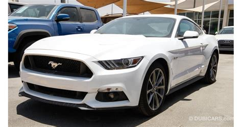 Ford Mustang Gt 5.0 For Sale. White, 2017