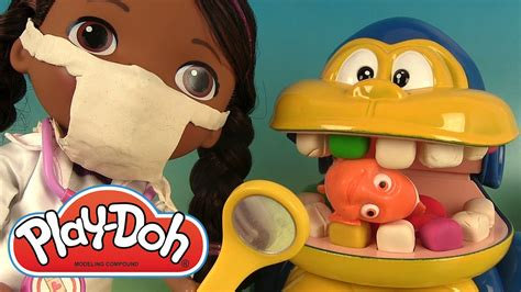 p 226 te 224 modeler dentiste singe docteur la peluche mashems play doh dentist
