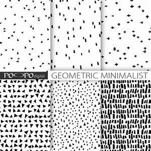 Stoffe Geometrische Muster : minimalistische digitales papier handgezeichnete primitive ~ A.2002-acura-tl-radio.info Haus und Dekorationen