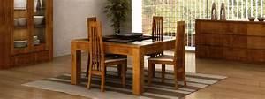Ensemble salle a manger design en chene figaro meubles for Salle À manger contemporaine avec salle a manger bois massif pas cher