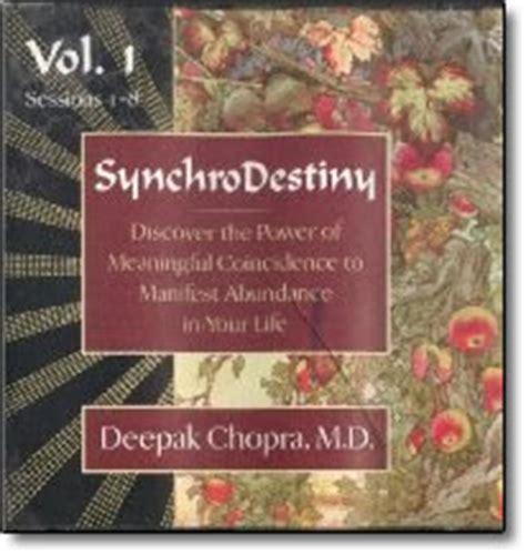 synchrodestiny  deepak chopra discount
