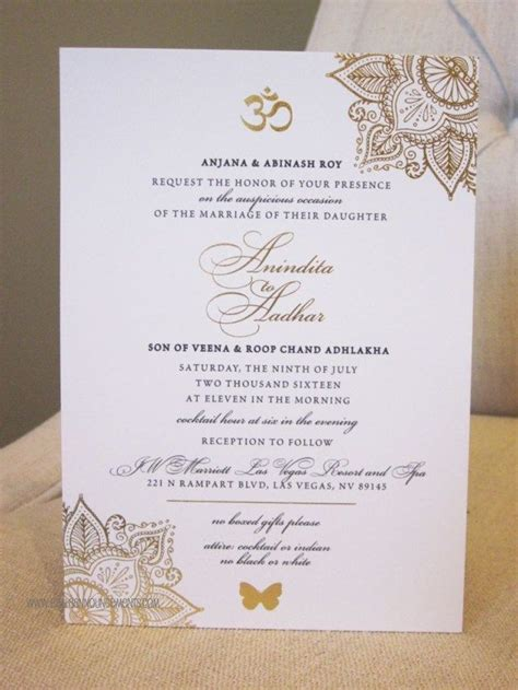 37+ Excellent Image of Wedding Invitations Gold Indian