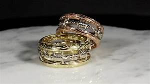 unusual barbed wire engagement rings contemporary With barb wire wedding rings