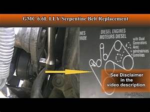 Duramax 6 6l Lly Serpentine Belt Replacement For Beginners