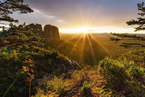 landscape, Sun HD Wallpapers / Desktop and Mobile Images ...