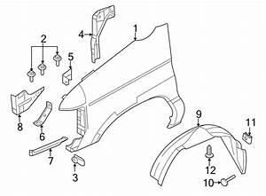 Ford E-150 Fender Bracket  Front   Outer