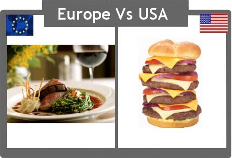 usa cuisine it 39 s cup europe vs the usa