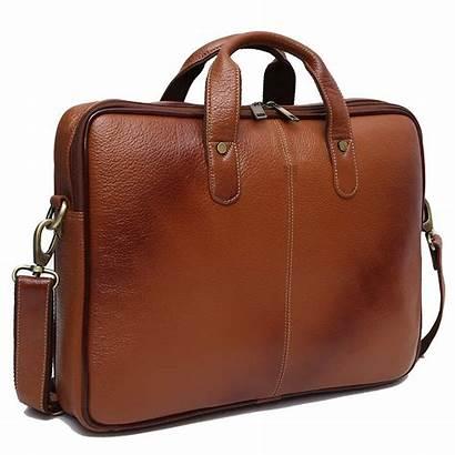 Laptop Leather Bag Messenger Inch Brown Mens