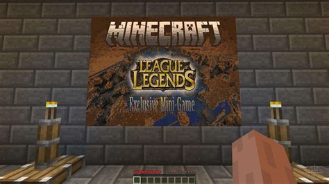 League Of Legends Exclusive Mini Game For Minecraft