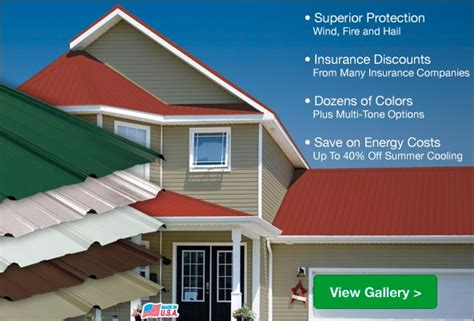 residential steel roofing featured homes  menards