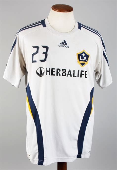 la galaxy david beckham soccer jersey