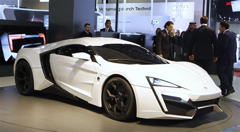 Lykan Hypercar : This Hypercar From 'fast And Furious 7' Flies Between