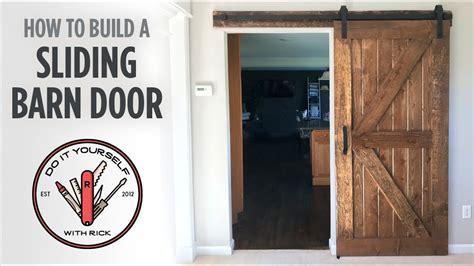 How To Build Barn Door Hardware by Diy Sliding Barn Door
