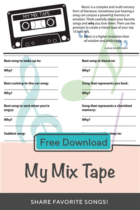 mix tape  images elementary activities