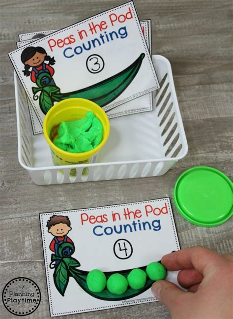 preschool farm theme planning playtime 200 | Preschool Farm Theme Centers Peas in the Pod Counting
