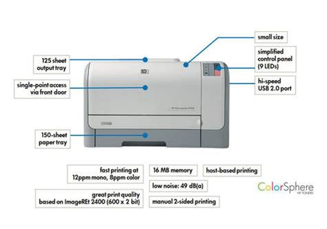 Where Is The Resume Button On Hp Printer by Hp Color Laserjet Cp1215 Colour Laser Printer Co