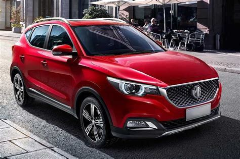 The model has adopted the concept of 'sensuous design'. MG ZS Electric SUV revealed In India - Cachy Cars