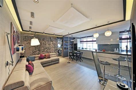 Offenes Wohnen Beispiele by 1 Zimmer Appartment Einrichten