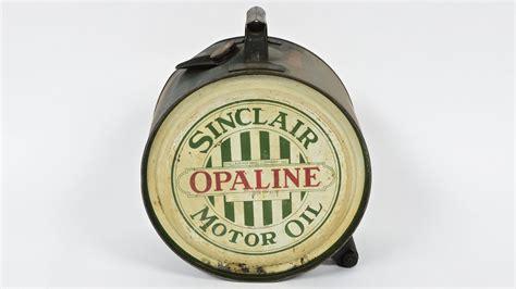 Sinclair Opaline Motor Oil 5 Gallon Rocker Oil Can