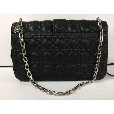 christian dior  dior flap bag cannage quilt lambskin large  stdibs