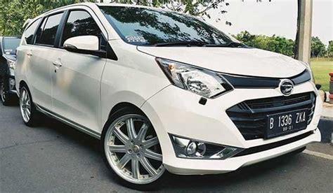 Mobil Sigra Modifikasi by 45 Modifikasi Mobil Toyota Calya Dan Daihatsu Sigra Paling