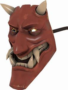 the Noh Mercy oni mask for the spy in TF2 | yokai ...