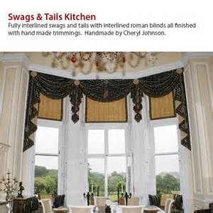 How To Make Swags And Tails Curtains by Curtain Ideas Swags And Tails Decorate Our Home With