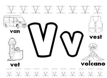 letter v worksheets letter v worksheets by kindergarten swag teachers pay 51793